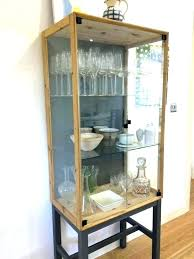 ikea display case china cabinet display cabinet display cabinet glass display cabinet curio display glass cabinet