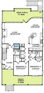 1 Lot Back Vacation Rental  Beach U0027n ItBeach Cottage Floor Plans