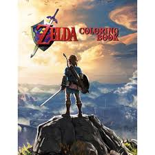 Dating from 1986 and published by nintendo zelda quickly. Zelda Coloring Book 49 Coloring Pages Of Link From Legend Of Zelda Walmart Com Walmart Com