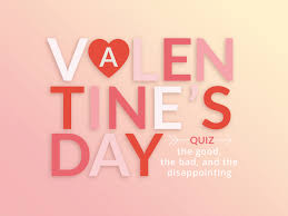 Therefore, we are expecting you to maintain the same level of zing while reading the post. Valentine S Day Quiz Weekly Challenge