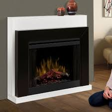 dimplex ebony electric fireplace convertible mantel package sl