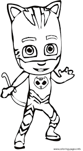 Coloring Pages Pj Mask Coloring Book Drawing At Free For Personal