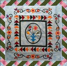 Spring Medallion: Twisted Ribbon Border - Lyn Brown's Quilting Blog & We ... Adamdwight.com