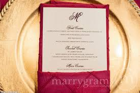 wedding reception menus wedding day stationery Wedding Reception Menu Cards wedding reception dinner menu cards flat with monogram design (50 count) wedding reception wedding reception menu card template