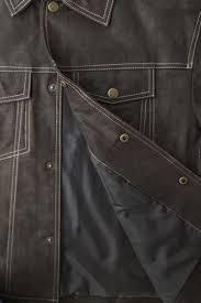 画像2 スカリー レザー ジージャンスタイル ジャケット ダークブラウン s scully leather