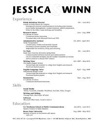Resume For College Examples Resume Template Directory