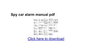spy car alarm manual pdf google docs cyclone c1 alarm instructions at Cyclone Motorcycle Alarm Wiring Diagram