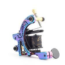 96708 руб 20 скидкапористый стиль дизайн цветная катушка тату машина легкий вес