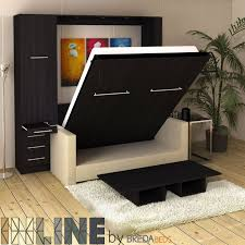 Murphy Bed Couches Transforming Furniture Inside Wall Beds With Sofa Plan  ...