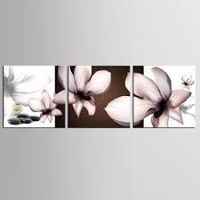 Top Muur Deocr Canvas Schilderij 3 Stks Mooie Bloemen Serie Moderne