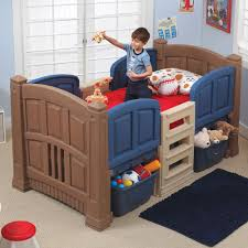 boy's loft  storage twin bed  kids beds with storage  step