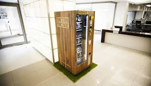 Green Machine Vending Awesome New Healthy Vending Machine Could Be A Gamechanger Food48