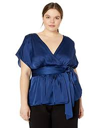 Amazon Com City Chic Womens Apparel Womens Plus Size Top