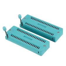 2pcs <b>IC Lock Seat</b> Zif Socket Test Universal zif Sockets 40Pin - US ...