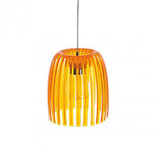 koziol josephine m pendant lamp shade colour orange