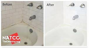 remove bathtub stains tub in process of being cleaned clean bathtub clean bathtub stains how