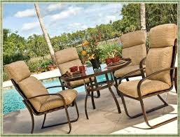 fred meyer outdoor furniture dazzling 5 piece bronze patio furniture with beige cushions decor fred meyer