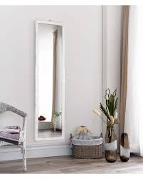 full length wall mirrors. Living Silver Full Length Frameless Wall Mirror Matalan Mirrors
