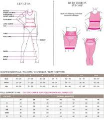 Ruby Ribbon Size Chart Happy Hooters Club With Ruby Ribbon