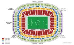 Qualified Allianz Stadium Seating Plan Rows Reliant Stadium