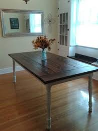 the hubbs and i worked together to build this farmhouse table i would say it
