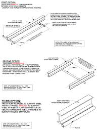 curtain track system components and assembly