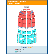 Paramount Theatre Oakland Ca Seating Chart The Paramount Theatre Oakland Event Venue Information