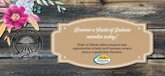 bee a pride of dakota member today