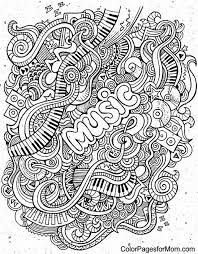 Doodles 62 Coloring Page I Love To Color Coloring Pages Doodle
