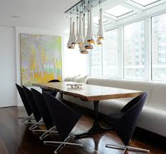 ideas of banquette dining table cool dining tables pedestal table for banquette round dining with