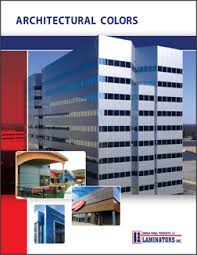 Laminators Inc Releases New Architectural Color Chart