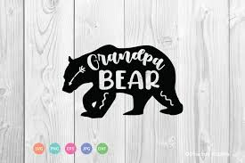 Choose from 90+ bear logo graphic resources and download in the form of png, eps, ai or psd. Grandpa Bear Svg Cut File 663640 Cut Files Design Bundles