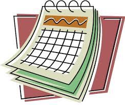 Image result for image of a calendar