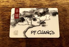 50 pf changs gift card 1 of 1 see more