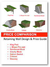 retaining wall comparison