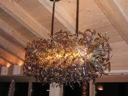 murano blown glass chandelier ghirigori