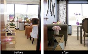 office make over. Tyra\u0027s Office Makeover(done Last Year) Is A Fantastic Transformation That Reflects Her Sense Of Style All Through Workspace. Make Over