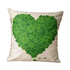 Shamrock Pillow Cover
