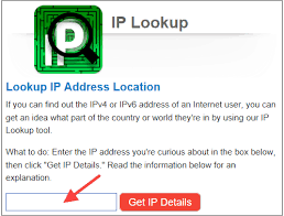 How To Find An Ip Address Geographic Location Tech Help Kb