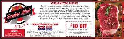 Groupon   30 For 50 Worth Of Prime Beef At Butcher Block Meats Butcher Block Meats Chandler