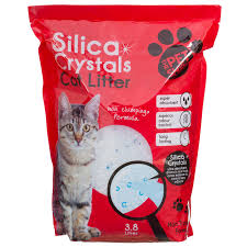 image cat litter. 291117-Silica-Crystals-Cat-Litter-3_8-litres Image Cat Litter