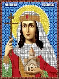 <b>Набор для вышивания</b> чешским бисером Св. Црца <b>Тамара</b> 19 ...