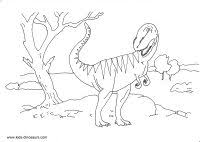 Small Picture T Rex Skeleton Coloring Page