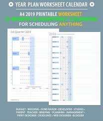 Project On Family Budget For A Month 2019 Full Year At A Glance Worksheet Printable Timeline