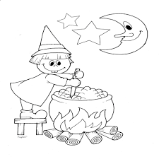 Halloween Disegni Da Colorare Gratis Per Bambini Fredrotgans