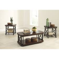 Living Room Tables Set 3 Piece End Table Set Standard Furniture Norway 3 Piece Coffee