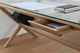 glass and wood office desk surprising sofa collection on glass and wood office desk gallery