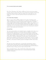Writing A Business Proposal Template Small Grant Free Plan