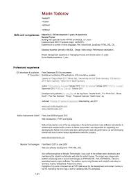 Resume Software Resume For Study