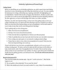 sample scholarship essay examples in pdf sample scholarship application essay